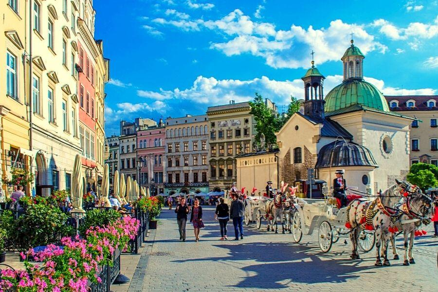 MŁODA POLSKA  Kraków, Wieliczka, Ojców