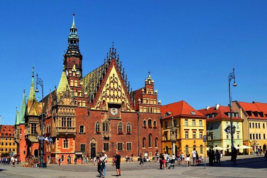 CALISIA I VRATISLAVIA - najstarsze miasta Polski  Łęczyca, Tum, Kalisz, Wrocław