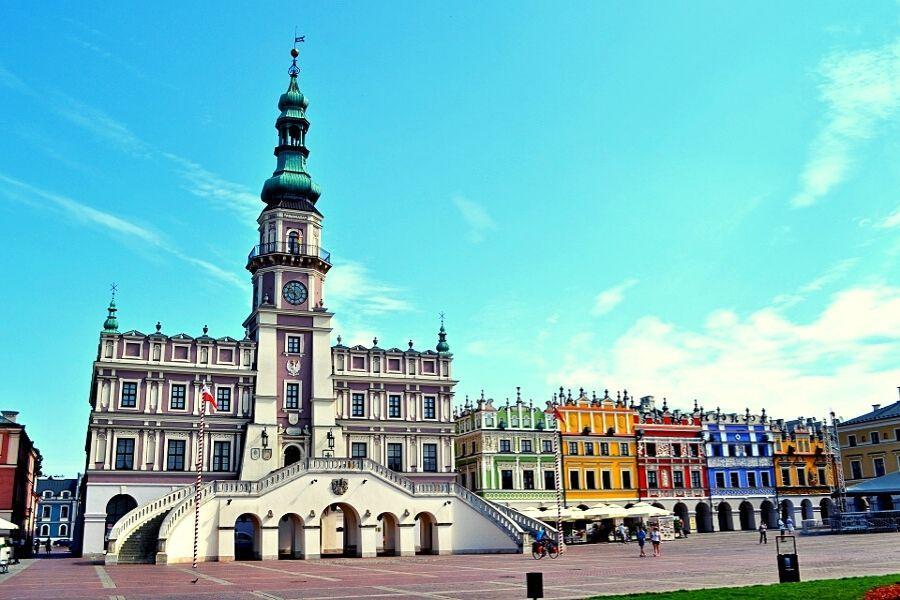 LUBLIN - ZAMOŚĆ - ROZTOCZE - KOZŁÓWKA I/LUB POLESIE  Lublin, Zamość, Roztocze, Kozłówka